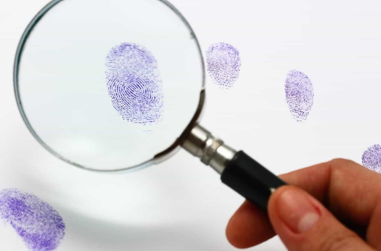 fingerprints investigated